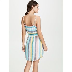 Splendid x Gray Malin St Barths Striped Dress